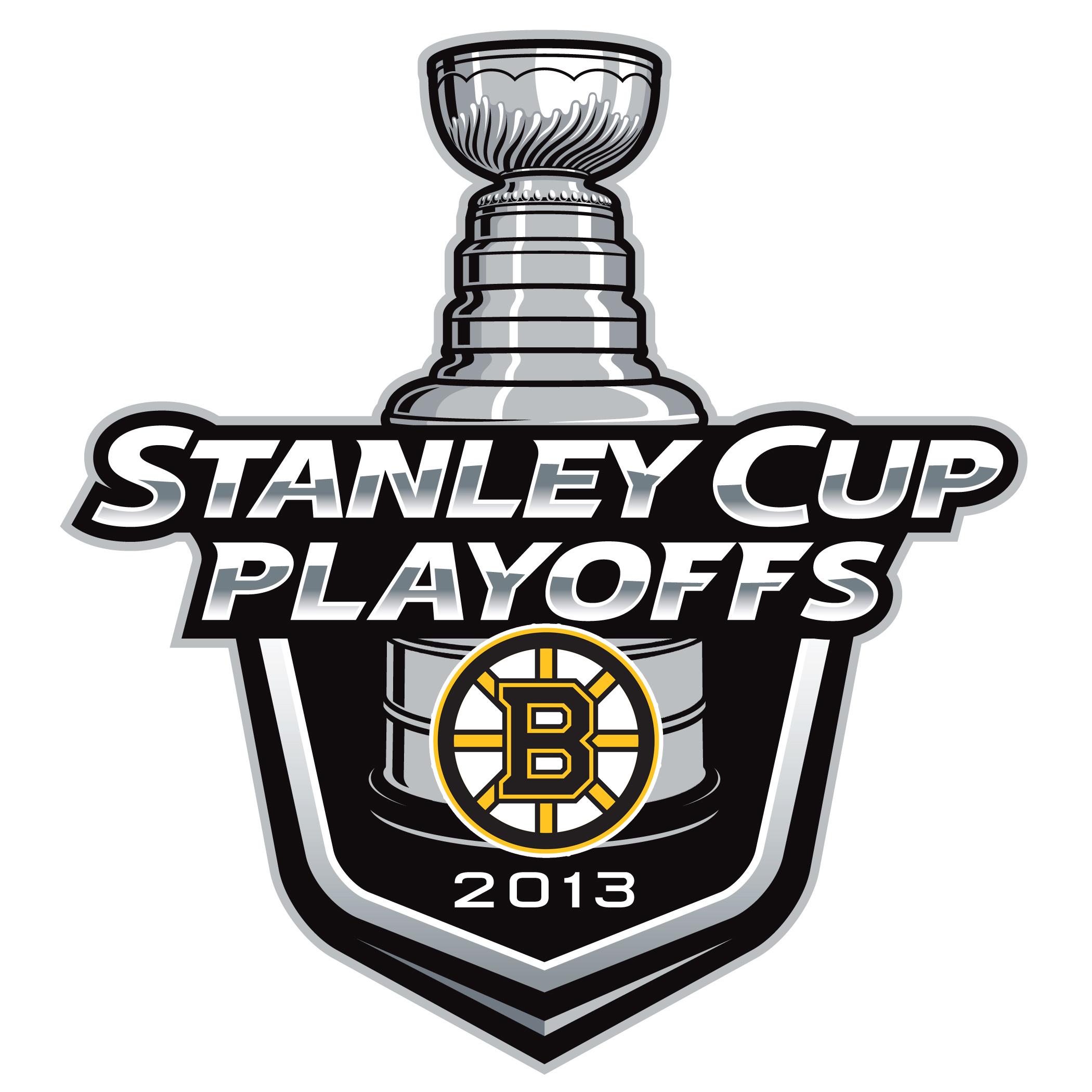 Boston Bruins NHL Playoffs Logo 2013 Decal (Sticker) [STK