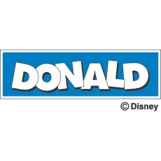Donald Duck DIY decals stickers version 4