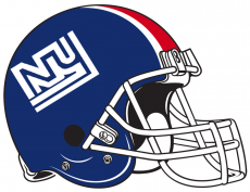 New York Giants 1975 Helmet iron on transfer