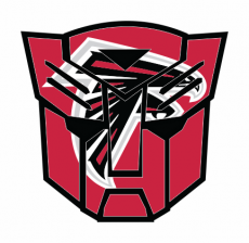 Autobots Atlanta Falcons logo iron on transfer