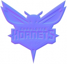 charlotte hornets 2015-pres primary colorful embossed logo iron on transfer