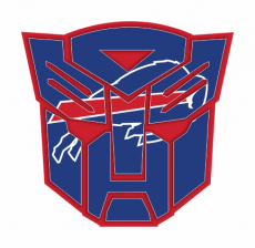 Autobots Buffalo Bills logo decal sticker