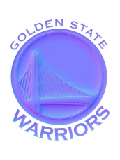 golden state warriors 2011-pres primary colorful embossed logo iron on transfer