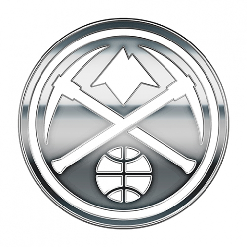 Denver Nuggets silver logo iron on transfer