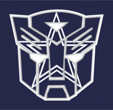 Autobots Dallas Cowboys logo iron on transfer