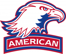 American Eagles 2006-2009 Alternate Logo 02 decal sticker