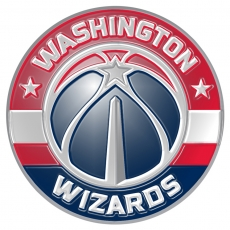 washington wizards 2015-pres primary logo plastic effect logo decal sticker