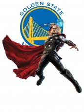 Golden State Warriors Thor Logo decal sticker