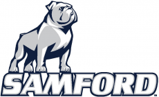 Samford Bulldogs 2016-Pres Primary Logo iron on transfer