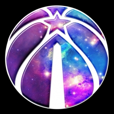 galaxy washington wizards iron on stickers