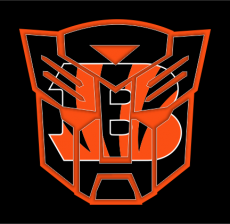 Autobots Cincinnati Bengals logo decal sticker