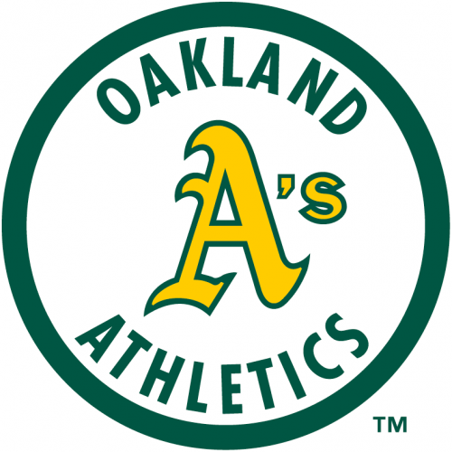 Oakland Athletics 1982-1992 Primary Logo iron on transfer