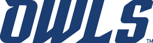Rice Owls 2017-Pres Wordmark Logo 01 iron on transfer