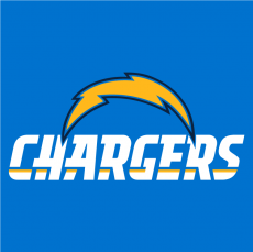 Los Angeles Chargers 2017 Alt on Dark Logo decal sticker