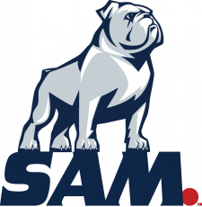 Samford Bulldogs 2016-Pres Secondary Logo decal sticker