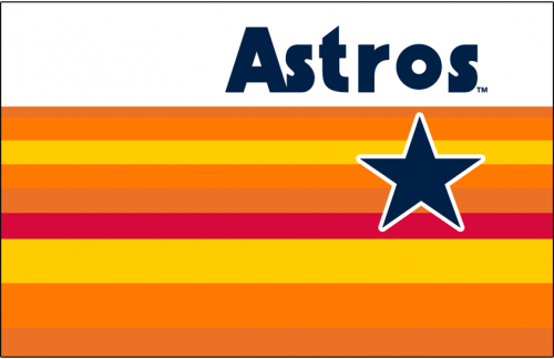 Houston Astros 1984-1986 Jersey Logo iron on transfer