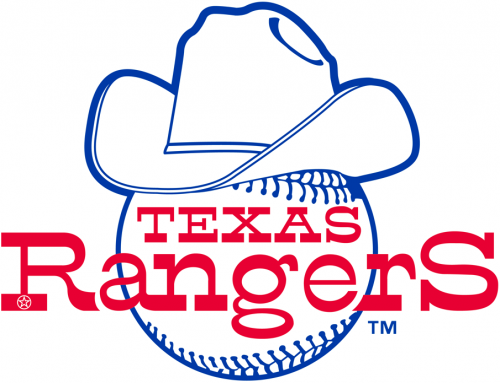 Texas Rangers 1981 Primary Logo iron on transfer