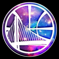 galaxy golden state warriors decal stickers