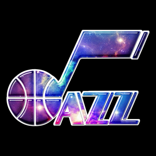 galaxy utah jazz decal stickers