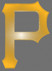 pittsburgh pirates 2014-pres primary plastic effect logo iron on transfer