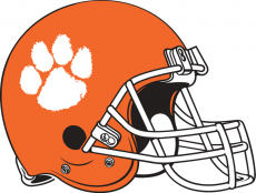 Clemson Tigers 1976 Helmet iron on transfer
