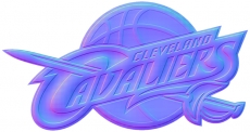 cleveland cavaliers 2011-pres primary colorful embossed logo iron on transfer