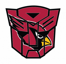 Autobots Arizona Cardinals logo iron on transfer