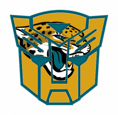 Autobots Jacksonville Jaguars logo iron on transfer