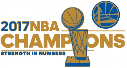 Golden State Warriors 2016-17 Champion Logo decal sticker