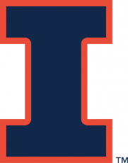 Illinois Fighting Illini 2014-Pres Alternate Logo 02 decal sticker