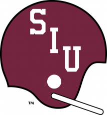 Southern Illinois Salukis 1959-1963 Helmet decal sticker