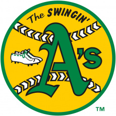 Oakland Athletics 1971-1981 Primary Logo iron on transfer