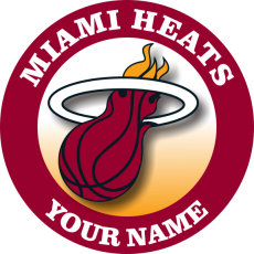 Miami Heats decal sticker