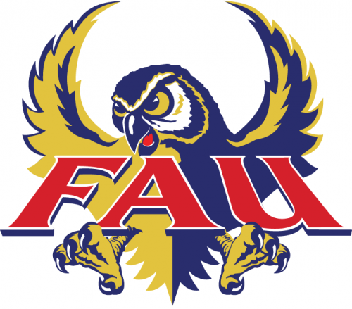 Florida Atlantic Owls 1994-2004 Primary Logo decal sticker