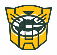 Autobots Green Bay Packers logo iron on transfer