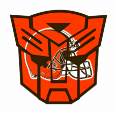 Autobots Cleveland Browns logo iron on transfer