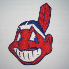 Cleveland Indians Logo Embroidered Iron On Patches