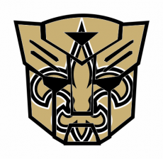 Autobots New Orleans Saints logo iron on transfer