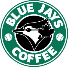 toronto blue jays starbucks coffee logo iron on transfer
