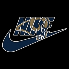 Los Angeles Rams nike logo decal sticker
