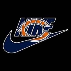 Chicago Bears nike logo decal sticker