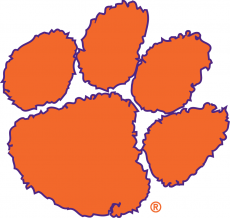 Clemson Tigers 1977-Pres Secondary Logo iron on transfer