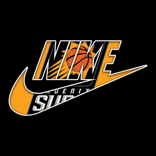 Phoenix Suns nike logo decal sticker