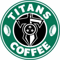 tennessee titans starbucks coffee logo iron on transfer