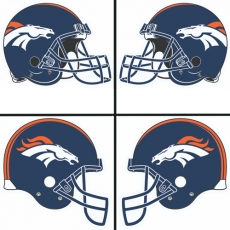 Denver Broncos Helmet Logo  DIY iron on transfers