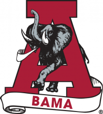 Alabama Crimson Tide 1974-2000 Secondary Logo iron on transfer