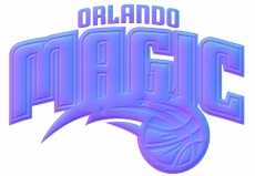 orlando magic 2011-pres primary colorful embossed logo iron on transfer