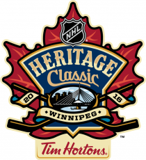 NHL Heritage Classic 2016-2017 Sponsored iron on transfer