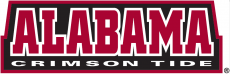 Alabama Crimson Tide 2001-Pres Wordmark Logo decal sticker