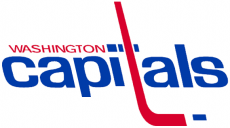 Washington Capitals 1974 75-1994 95 Primary Logo decal sticker